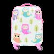 Gyerek Bőrönd Szett Bagoly