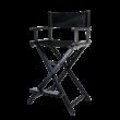 Összecsukható smink szék fejtámlával rosegold színben