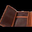 Valódi bőr női pénztárcá OP8052 VERDE
