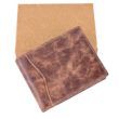 Valódi bőr férfi pénztárca díszdobozban VE-H04 ROSSO