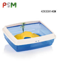 PSM-609114 Műanyag Teknős Terrárium 42X33X14CM