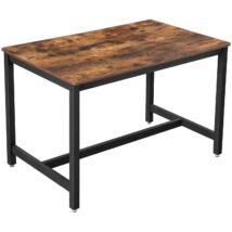 konyhaasztal, étkezőasztal, 120 x 75 x 75 cm