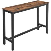 Bárasztal, stabil magas asztal 120 x 60 x 90 cm