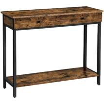 Konzolasztal, előszobaasztal 2 fiókkal 100 x 35 x 80 cm