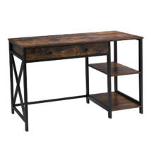 Számítógép asztal polcokkal LWD23BX