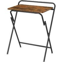 Összecsukható kis íróasztal vintage barna/fekete