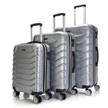 Bontour Basic kemény bőrönd szett 2026-3# Ezüst