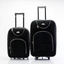 2 db-os bőrönd szett (S+M) Fekete