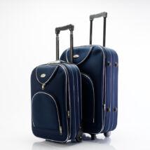 2 db-os bőrönd szett (S+M) Kék