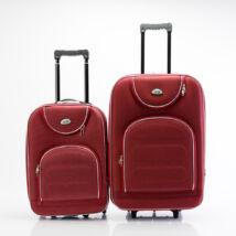 2 db-os bőrönd szett (S+M) Bordó