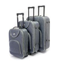 3 db-os bőrönd szett - Szürke