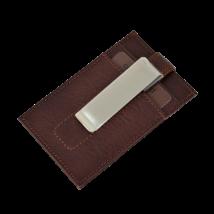 Valódi bőr Kétoldalas Kártyatartó díszdobozban OP-8511 T.MORO