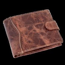 Valódi bőr férfi pénztárca díszdobozban VE-H28 ROSSO