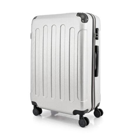 BONTOUR VERTICAL 4 Kerekes Nagy Bőrönd 76x50x29cm ezüst
