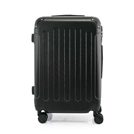 BONTOUR VERTICAL 4 Kerekes Közepes Bőrönd 68x45x25cm Fekete
