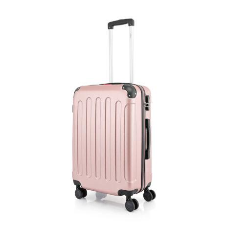 BONTOUR VERTICAL 4 Kerekes Közepes Bőrönd 68x45x25cm Rose Gold