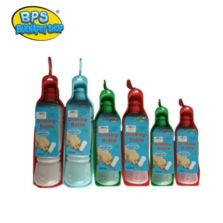 BPS Hordozható kutya víz kulacs 500ml-Kék