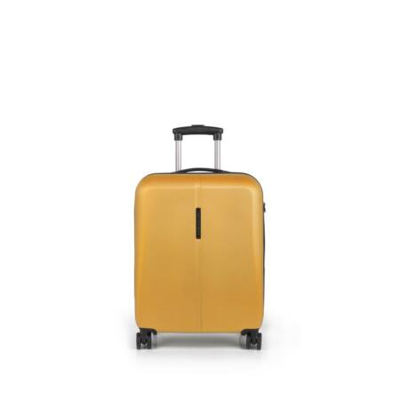 Gabol Paradise 4-kerekes kabinbőrönd 55x40x20 cm Sárga