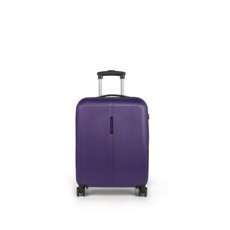Gabol Paradise 4-kerekes kabinbőrönd 55x40x20 cm Lila