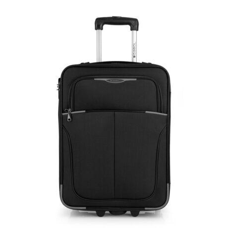 Gabol Malasia 2-kerekes kabinbőrönd 55x40x20 Fekete