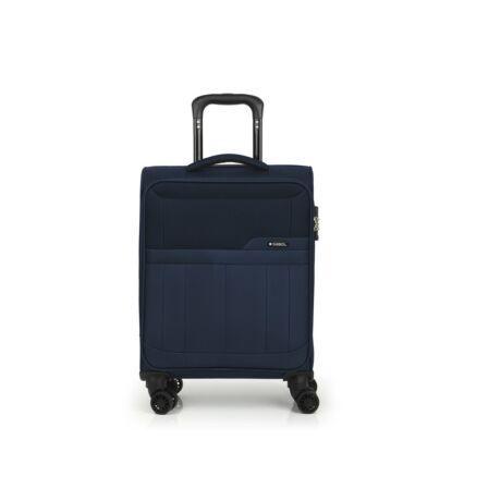 Gabol Roma 4-kerekes Puha Kabinbőrönd 55x39x20 cm Kék