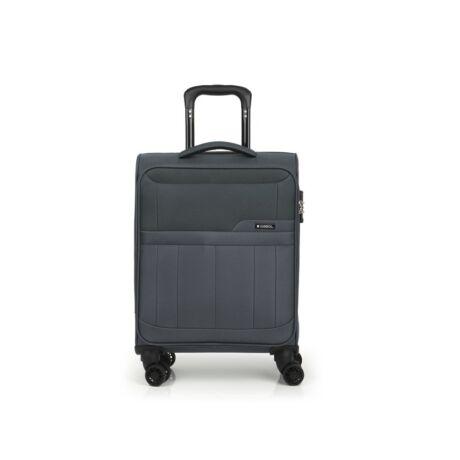 Gabol Roma 4-kerekes Puha Kabinbőrönd 55x39x20 cm Szürke