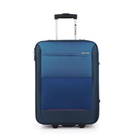 Gabol Reims 2-kerekes trolley bőrönd 55x40x20cm Kék