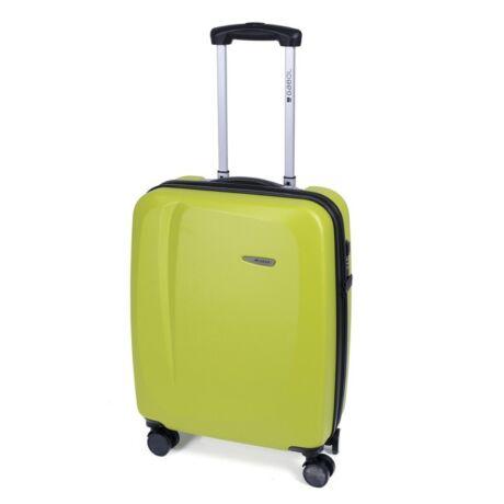 Gabol Line 4-kerekes kabinbőrönd 55x39x20 cm Zöld