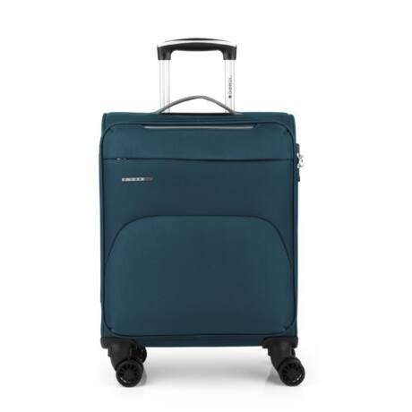 Gabol Zambia 4-kerekes kabinbőrönd 55x38x20cm Türkiz kék