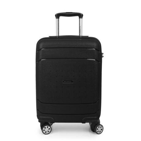 Gabol SHIBUYA 4-kerekes Kabinbőrönd 55x40x20 cm Fekete