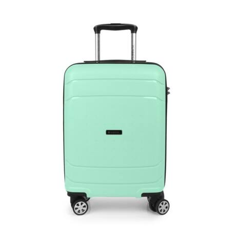 Gabol SHIBUYA 4-kerekes Kabinbőrönd 55x40x20 cm Mentazöld
