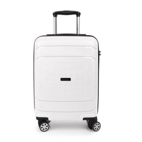 Gabol SHIBUYA 4-kerekes Kabinbőrönd 55x40x20 cm Fehér