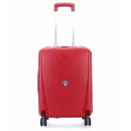 Roncato Light 4-kerekes Kabinbőrönd 55x40x20 CM Piros