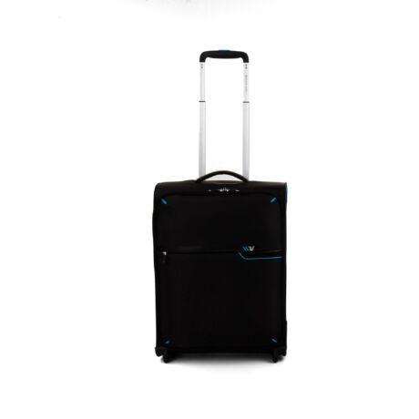 Roncato Ultra könnyű 2-Kerekes kabibőrönd 55x40x20cm 1,4kg Fekete