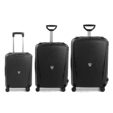 Roncato Light 4-kerekes Bőrönd Szett 3 db-os Fekete