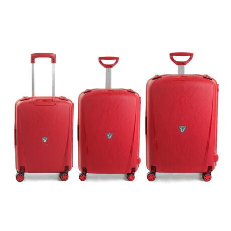 Roncato Light 4-kerekes Bőrönd Szett 3 db-os Piros