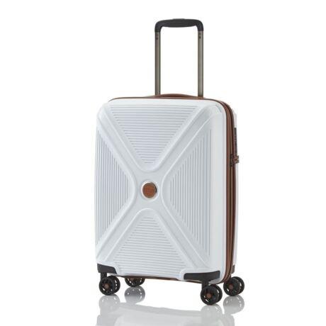 Travelite Orlando 4 kerekes Kabin méretű Bőrönd  54x36x20 cm Sötétszürke