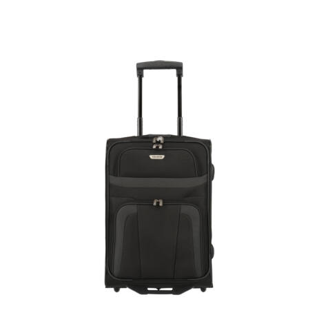 Travelite Orlando 2 Kerekű Kabin Méret Bőrönd 53x37x20 cm Fekete