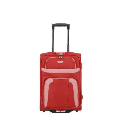 Travelite Orlando 2 Kerekű Kabin Méret Bőrönd 53x37x20 cm Piros