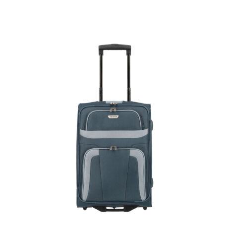 Travelite Orlando 2 Kerekű Kabin Méret Bőrönd 53x37x20 cm Kék