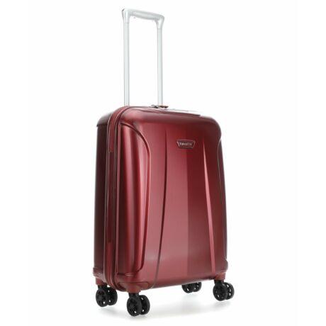 TRAVELITE ELBE 4 kerekes Kabin méretű Bőrönd  55x40x20 cm Bordó