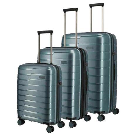 TRAVELITE Air Base - Bőrönd Szett Kék 4 Kerekű 3 Részes
