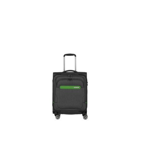 TRAVELITE Madeira 4 kerekű kabin méret bőrönd  55x40x20 Szűrke