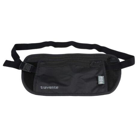 TRAVELITE Levehető zsebes övtáska RFID védett-fekete