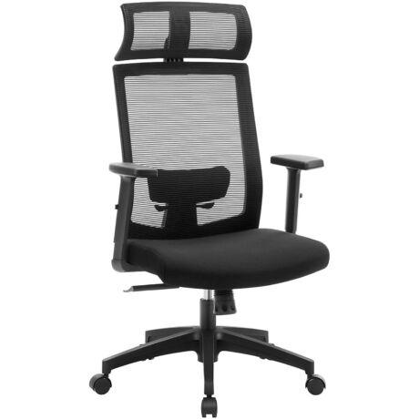 Irodai szék, hálós borítással, ergonomikus számítógépes szék