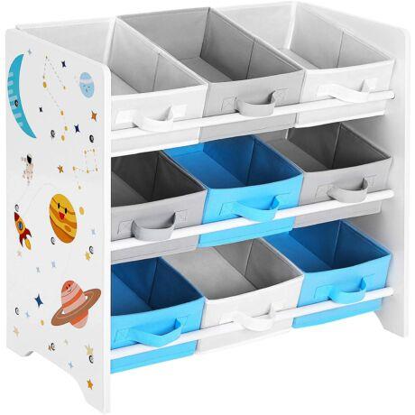 Gyermeknek tároló polc játékoknak 62,5 x 29,5 x 60 cm