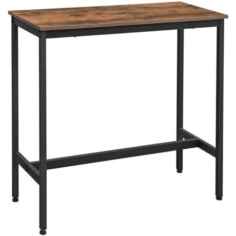 Bárasztal, stabil magas asztal 100 x 40 x 90 cm