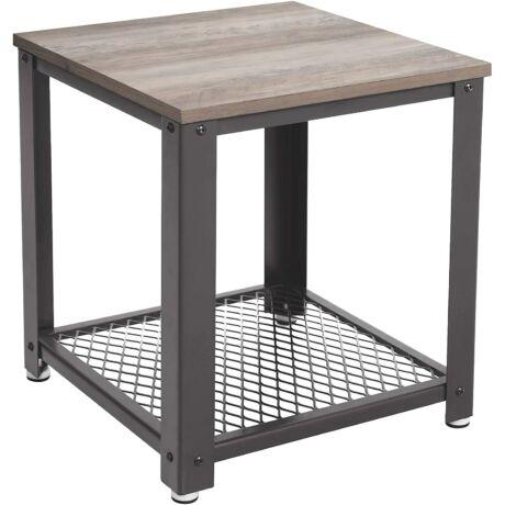 Kis oldalasztal 45 x 45 x 55 cm, szürke