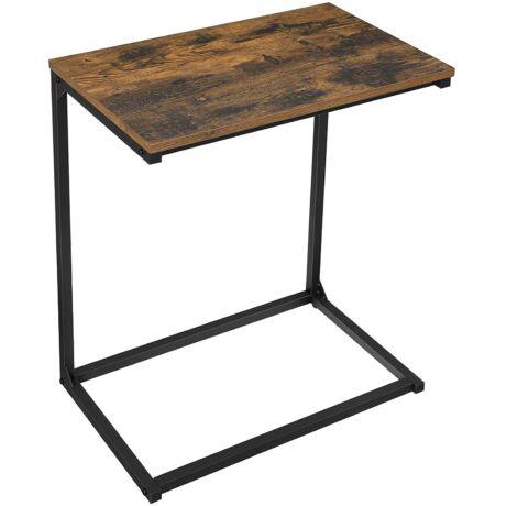 Éjjeliszekrény, kis asztal 55 x 35 x 66 cm, Vintage barna