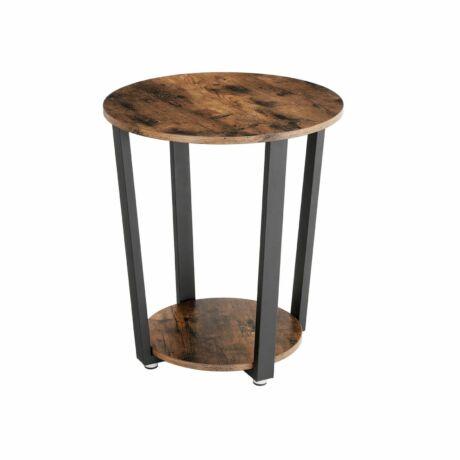 Kerek oldalsó asztal, dohányzóasztal 50 x 50 x 57 cm